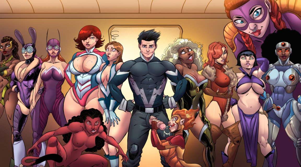 Comix harem cartoon porn comics game